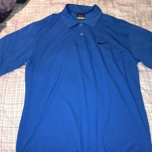 Nike dryfit golf shirt